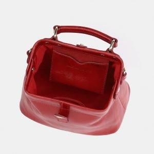 Вместительная красная женская сумка ATS-3756