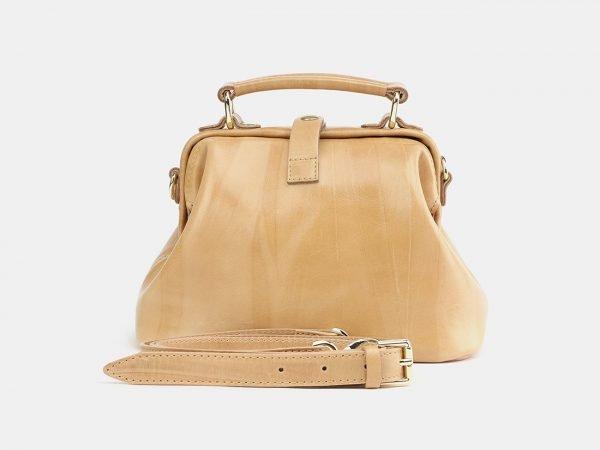 Стильная бежевая женская сумка ATS-3758
