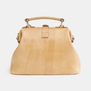 Неповторимая бежевая женская сумка ATS-3758