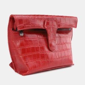 Уникальный красный женский клатч ATS-3848 210901