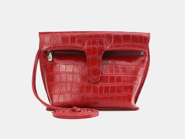Уникальный красный женский клатч ATS-3848