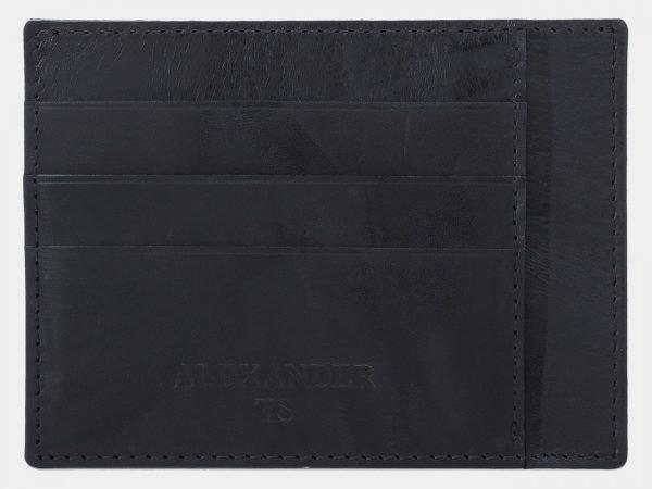 Деловая черная визитница ATS-1810