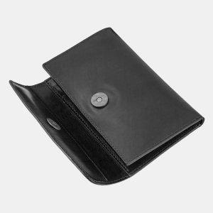 Стильный черный кошелек ATS-1507