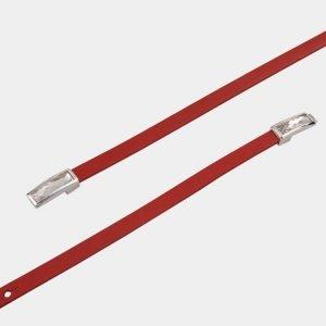 Солидный красный женский модельный ремень ATS-1323 216826