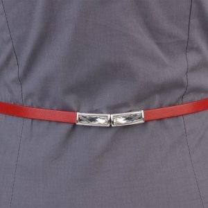 Солидный красный женский модельный ремень ATS-1323 216827