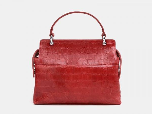 Вместительная красная женская сумка ATS-3765