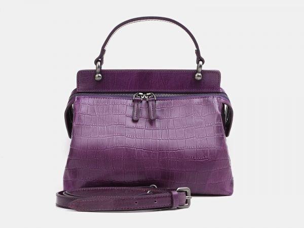 Функциональная фиолетовая женская сумка ATS-3366