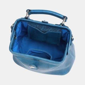 Функциональная зеленовато-голубая женская сумка ATS-3769 211299