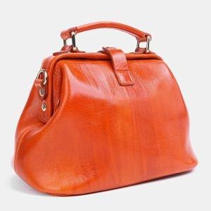Уникальная оранжевая женская сумка ATS-3770 211292