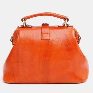Уникальная оранжевая женская сумка ATS-3770 211293