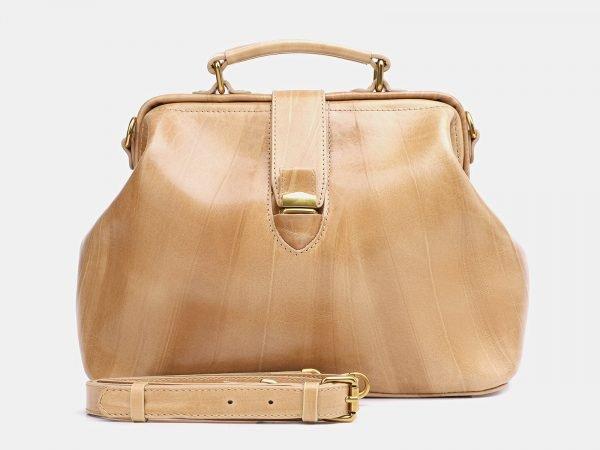 Уникальная бежевая женская сумка ATS-3771