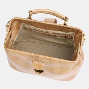 Стильная бежевая женская сумка ATS-3771