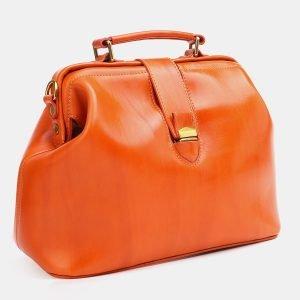 Функциональная оранжевая женская сумка ATS-3772 211282