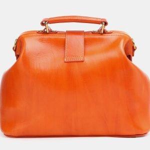 Функциональная оранжевая женская сумка ATS-3772 211283