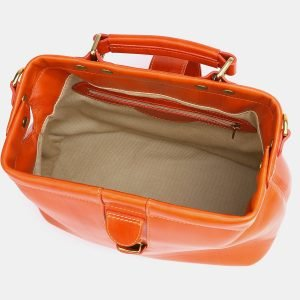 Функциональная оранжевая женская сумка ATS-3772 211284