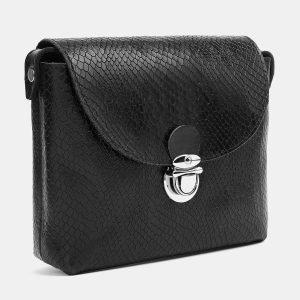 Удобный черный женский клатч ATS-3779 211252