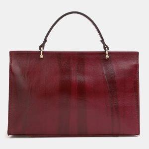 Функциональная бордовая женская сумка ATS-3850 210892