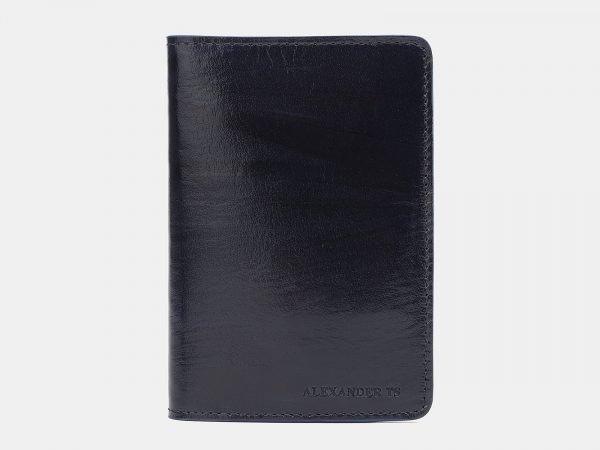 Удобная синяя обложка для паспорта ATS-1529