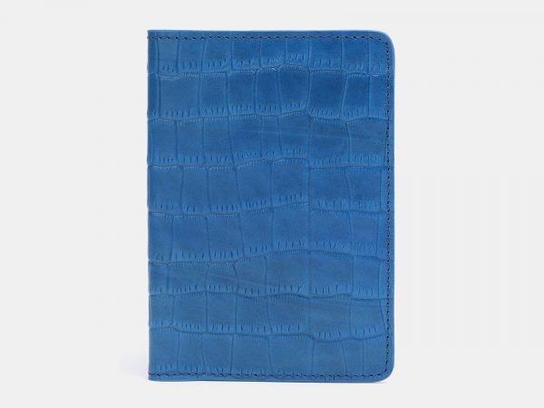 Неповторимая зеленовато-голубая обложка для паспорта ATS-3805