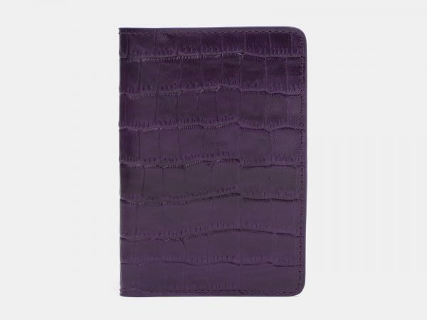 Стильная фиолетовая обложка для паспорта ATS-2214