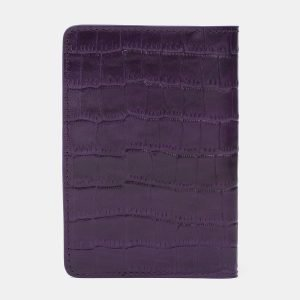 Стильная фиолетовая обложка для паспорта ATS-2214 215650