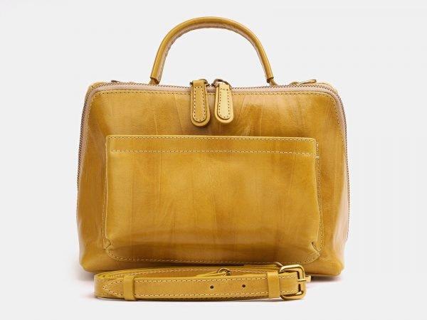 Кожаная женская сумка ATS-3808