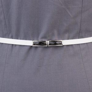 Солидный белый женский модельный ремень ATS-1318 216847