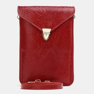 Солидный красный женский клатч ATS-3833