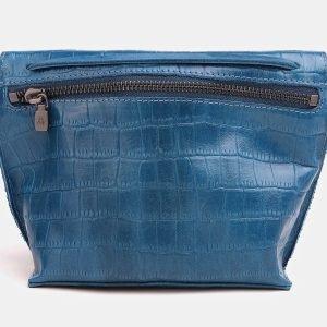 Модный голубовато-синий женский клатч ATS-3839 210946