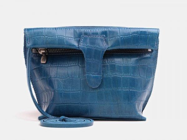 Модный голубовато-синий женский клатч ATS-3839