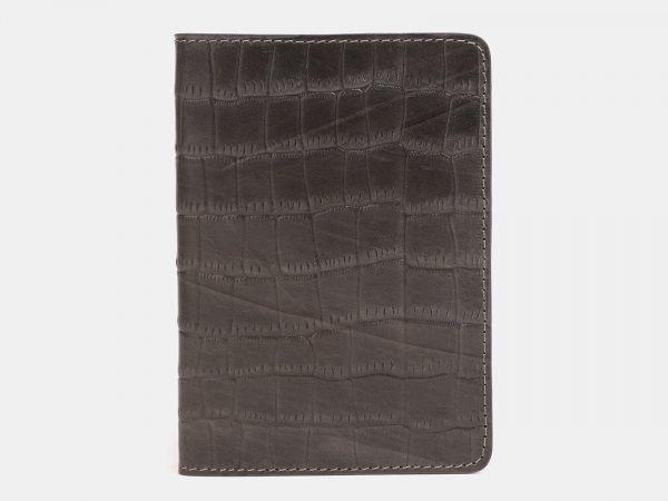 Неповторимая коричневая обложка для паспорта ATS-3259