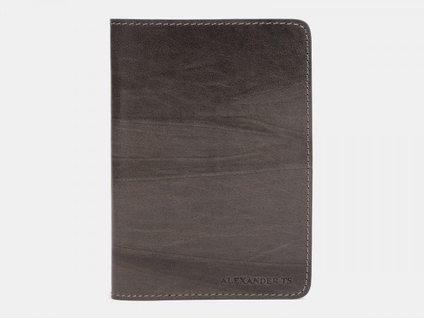 Уникальная коричневая обложка для паспорта ATS-1490