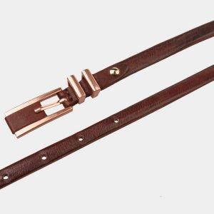Стильный светло-коричневый женский модельный ремень ATS-1221 216972