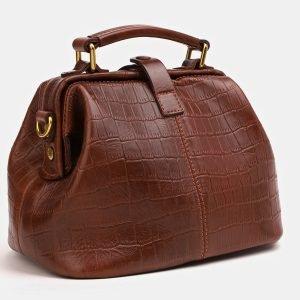 Удобная светло-коричневая женская сумка ATS-3824 211020