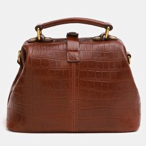 Удобная светло-коричневая женская сумка ATS-3824 211021