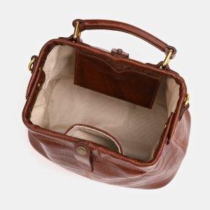 Удобная светло-коричневая женская сумка ATS-3824 211022