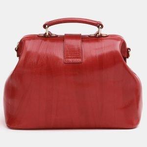 Неповторимая красная сумка с росписью ATS-3829 210996