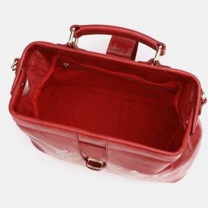Неповторимая красная сумка с росписью ATS-3829 210997