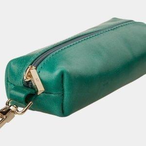 Модная зеленая ключница ATS-1089