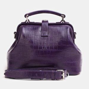 Неповторимая фиолетовая женская сумка ATS-3847