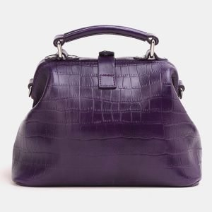 Солидная фиолетовая женская сумка ATS-3847 210907