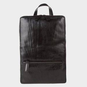 Уникальный черный рюкзак кожаный ATS-3523