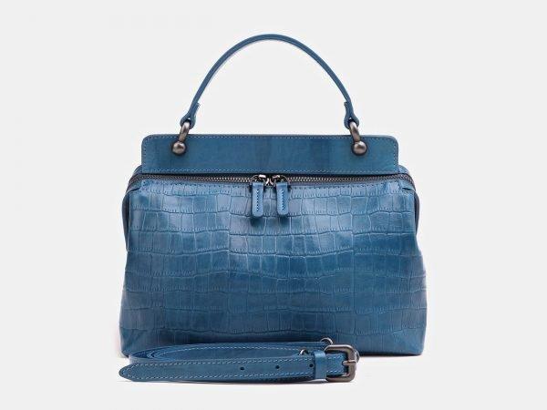 Модная зеленовато-голубая женская сумка ATS-3860