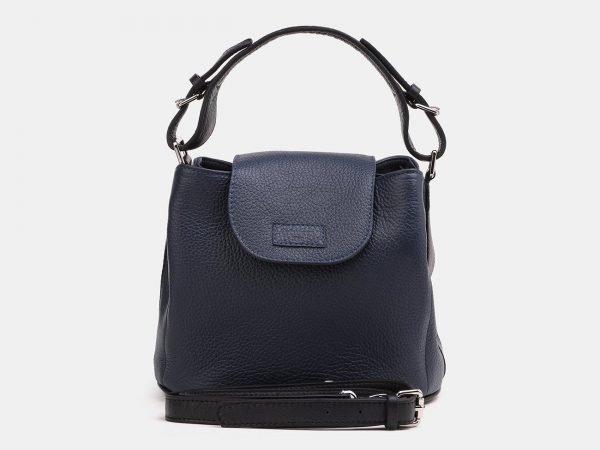 Вместительная синяя женская сумка ATS-3858