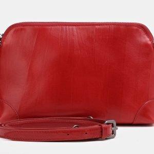 Деловая красная женская сумка ATS-3853