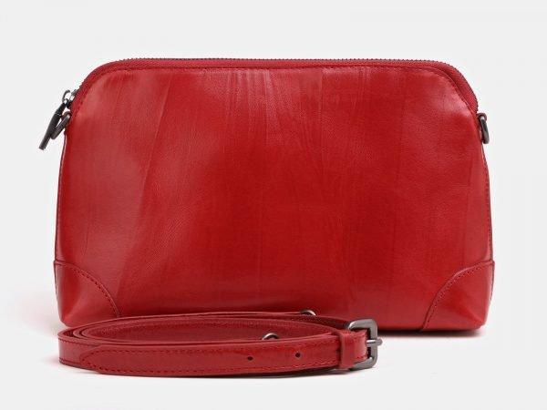 Вместительная красная женская сумка ATS-3853