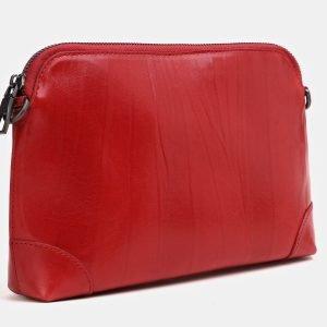 Вместительная красная женская сумка ATS-3853 210876