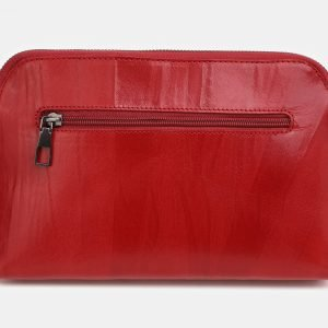 Вместительная красная женская сумка ATS-3853 210877