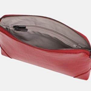 Вместительная красная женская сумка ATS-3853 210878