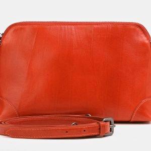 Уникальная оранжевая женская сумка ATS-3851